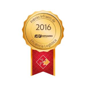 Prêmio INFRAERO DE EFICIÊNCIA LOGÍSTICA 2016
