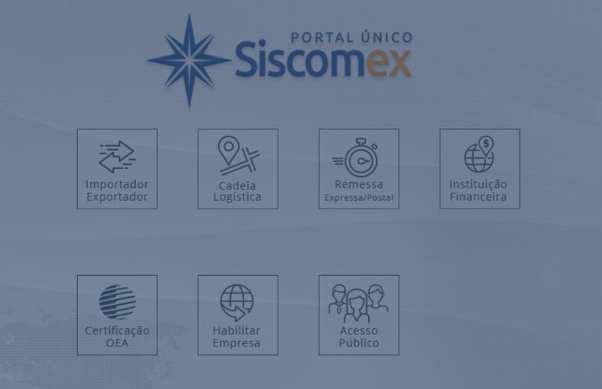 Radar Siscomex