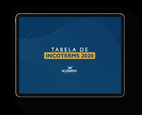 Tabela Incoterms 2020