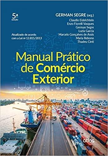 Livro Manual Prático de Comércio Exterior