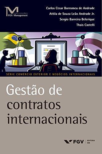 Livro Gestão de Contratos Internacionais