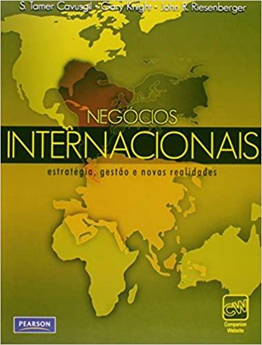 Livro negócios internacionais