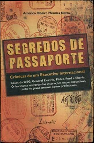 livro segredos de passaporte