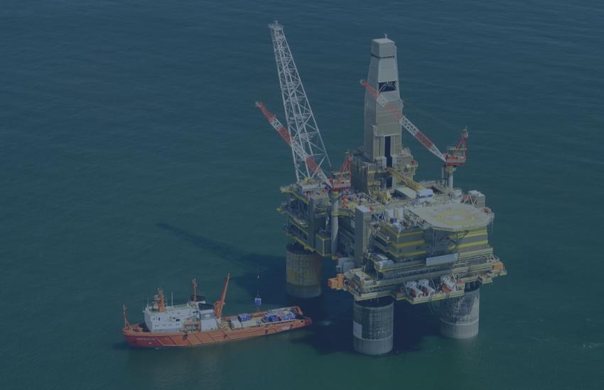 Drilling or exploration rigs, dredgers etc