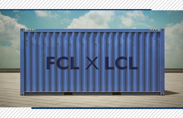 FCL ou LCL: qual é a melhor escolha na importação marítima?